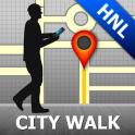 Honolulu Map and Walks