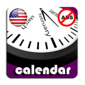 2019 US National Holiday Calendar AdFree +Widget