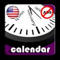2019 US National Holiday Calendar AdFree +Widget