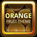 Orange Fruit Theme GO Launcher