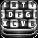 Black and White Keyboard