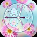 Reloj de Flores para Pantalla