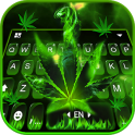 Rasta Weed Keyboard Theme