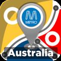Australia Rail & Metro Maps