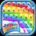 Regenbogen Tastatur