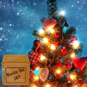 クリスマスツリーのライブ壁紙