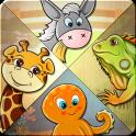 Kinder-Puzzle - lernen 82 Tier
