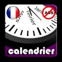 2020 Calendrier Fériés France Adfree + Widget