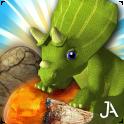 Jurassic Free Fall - Match 3