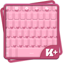 Pink Bow Keyboard