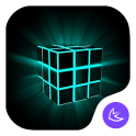 Magical Cool Glitter Technology Launcher theme
