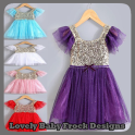 Lovely Baby Frock Designs