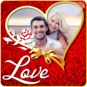 Romantic Love Photo Frame Maker Share Couples Pics