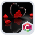 Coeur Romantique Rouge Thème