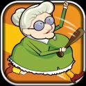 Running Granny Against Zombie