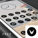 Dark Void - Black Circle Icons (Free Version)