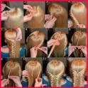Schritt für Schritt-Frisuren