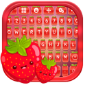 Cute Strawberry Keyboard