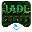 Pure Green Jade Keyboard Theme