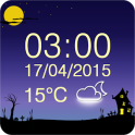 무서운 날씨 시계