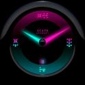 MYSTIC Laser Clock Widget