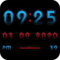 ALPHA Digital Clock Widget