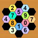 Math Hexagon Puzzles