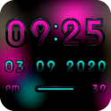 MYSTIC Digital Clock Widget