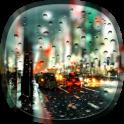 Ville Pluvieuse Fond d'écran
