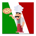 Italian Food full of Pizza