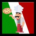 Italian Food full of Pizza