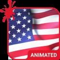 American Animated Keyboard + Live Wallpaper