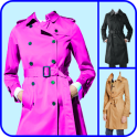 Woman Trench Coat Photo Editor