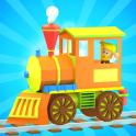 3D Игра игрушки поезда