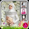 Modern Wedding Hijab