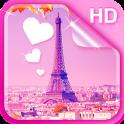 Sweet Paris Live Wallpaper HD