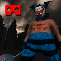 VR Killer Clown Horror Ride (Google Cardboard)