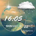 Moto Blur style Atrix Clock