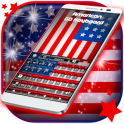 American Flag For Keyboard Theme