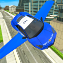 Police Flying Cars Futuristic Sim 3D