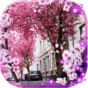 Spring City live wallpaper