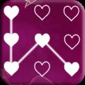Heart Pattern Lock Screen