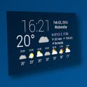 Simple Time & Weather Widget