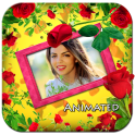 Roses Photo Frames Animated Live Wallpaper