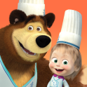Masha and the Bear Child Games: Cooking Adventure