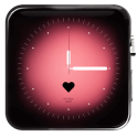 Love Theme Clock