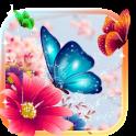 Butterflies Animated Keyboard + Live Wallpaper