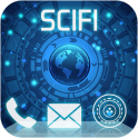 Sci fi Launcher Jarvis 2 Theme