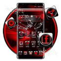 3d black red theme