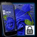 Blue rose dew lock theme